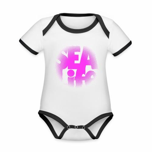 Sealife surfing tees, clothes and gifts FP24R01B - Vauvan kontrastivärinen, lyhythihainen luomu-body
