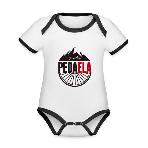 PEDAELA - Body contraste para bebé de tejido orgánico