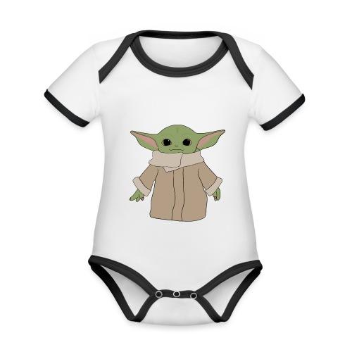 Baby Y - Body contraste para bebé de tejido orgánico