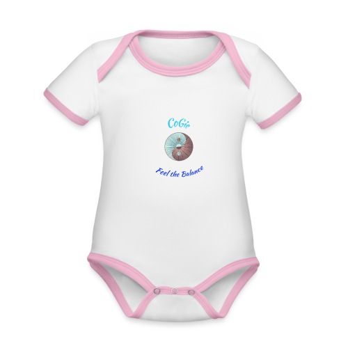 CoGie, Feel the Balance - Organic Baby Contrasting Bodysuit