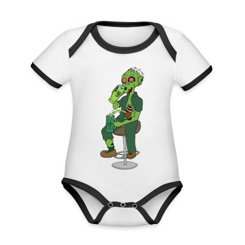 St. Patrick - Organic Baby Contrasting Bodysuit