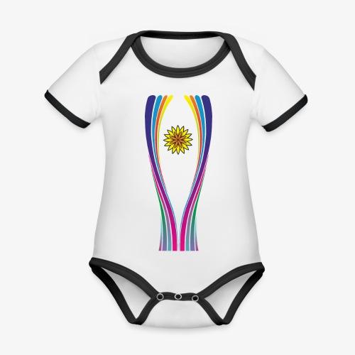 SOLRAC World Cup - Body contraste para bebé de tejido orgánico