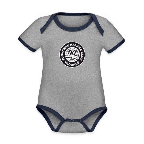 TKC Original - Body Bébé bio contrasté manches courtes
