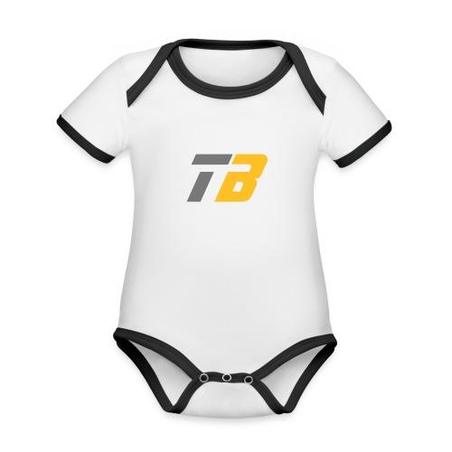 Logo Team Benninghofen - Baby Bio-Kurzarm-Kontrastbody