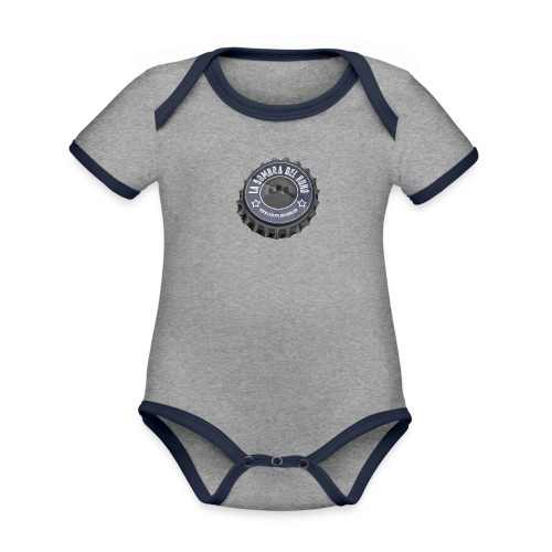 Chapa - Body contraste para bebé de tejido orgánico
