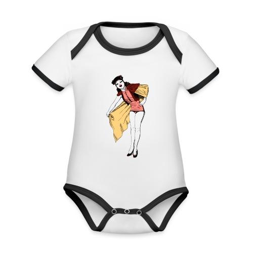 Women01 - Baby Bio-Kurzarm-Kontrastbody