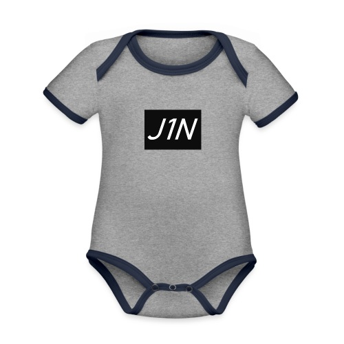 J1N - Organic Baby Contrasting Bodysuit