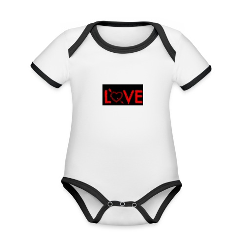 Baby's Love Dream Wear - Organic Baby Contrasting Bodysuit