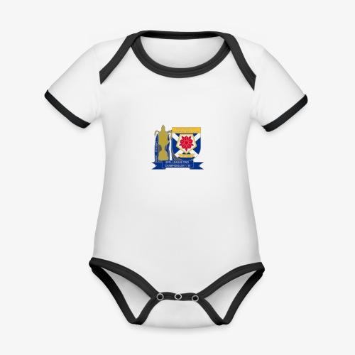 MFCSC Champions Artwork - Organic Baby Contrasting Bodysuit