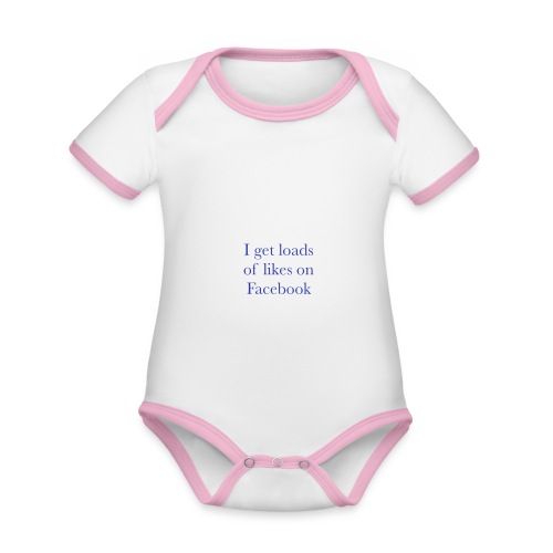Facebook likes - Organic Baby Contrasting Bodysuit