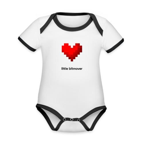 bitmovin kids little bitmover - Baby Bio-Kurzarm-Kontrastbody