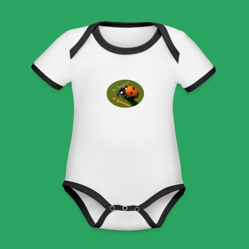 la scienza di Giacomo logo giusto tondo PNG - Body da neonato a manica corta, ecologico e in contrasto cromatico