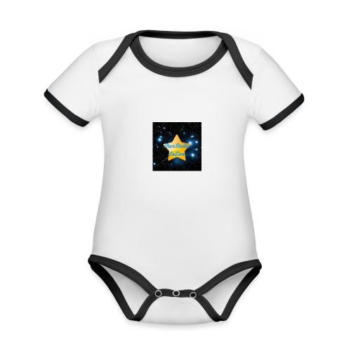 Logo Janvier-Juin 2017 de StarStudio LeLive ! - Body Bébé bio contrasté manches courtes