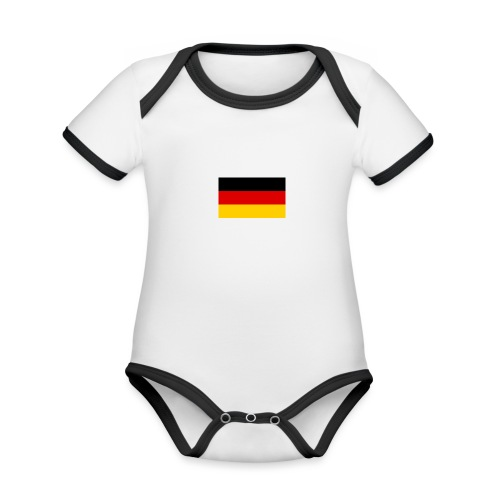Deutschland - Baby Bio-Kurzarm-Kontrastbody