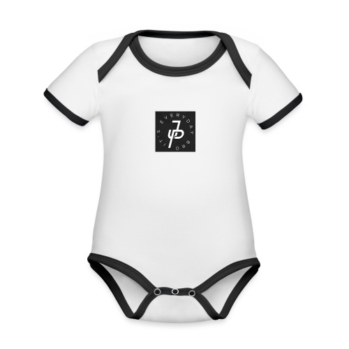 unoriginal its everyday bro merchandise - Baby Bio-Kurzarm-Kontrastbody