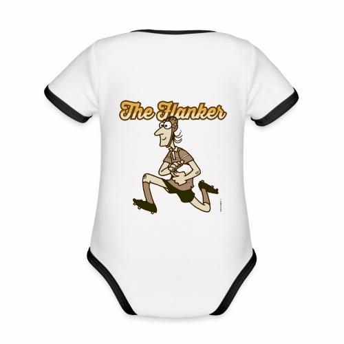 Flanker_Marplo_mug.png - Body da neonato a manica corta, ecologico e in contrasto cromatico