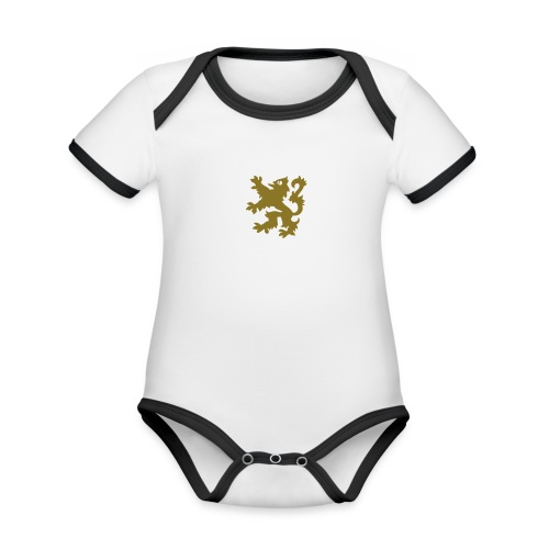SDC men's briefs - Organic Baby Contrasting Bodysuit