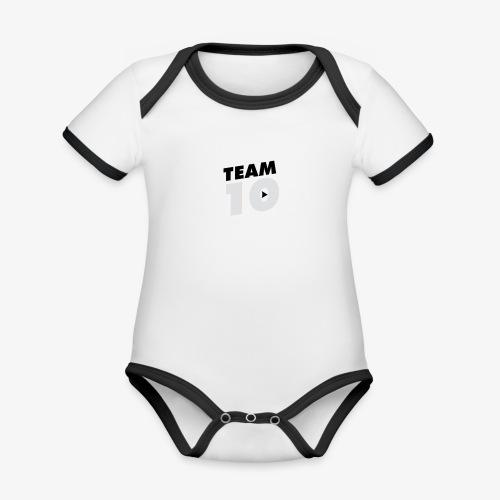 tee - Organic Baby Contrasting Bodysuit