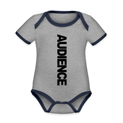 audienceiphonevertical - Organic Baby Contrasting Bodysuit
