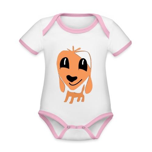 Hundefreund - Organic Baby Contrasting Bodysuit