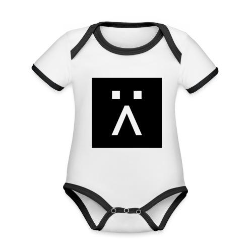 G-Button - Organic Baby Contrasting Bodysuit