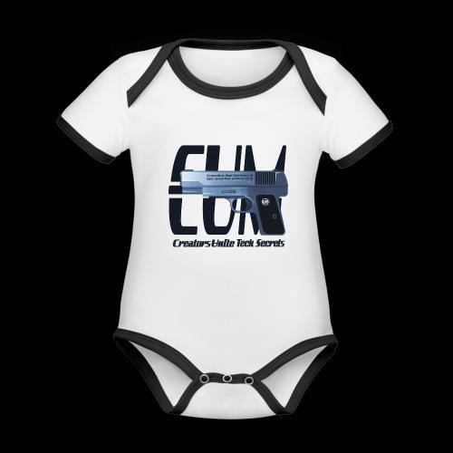 Tech Secrets 06 [CREATORS UNITE ORIGINAL] - Organic Baby Contrasting Bodysuit