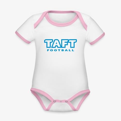 4769739 124019410 TAFT Football orig - Vauvan kontrastivärinen, lyhythihainen luomu-body