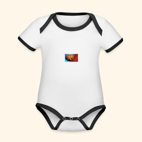 NathanielsLogo2 - Baby Bio-Kurzarm-Kontrastbody
