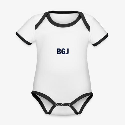 BGJ (Buy Gold Jewelry) - Organic Baby Contrasting Bodysuit