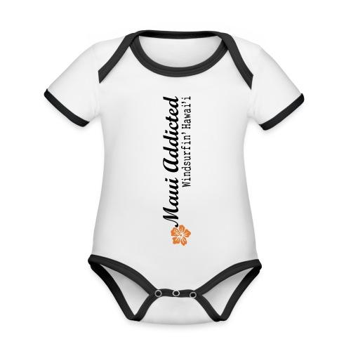 MAddLogoVert ai - Organic Baby Contrasting Bodysuit