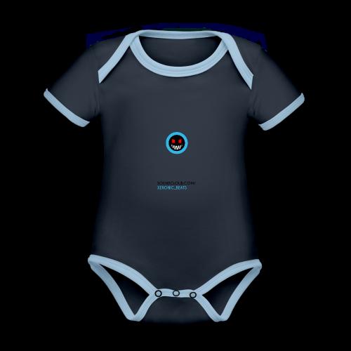 XERONIC LOGO - Organic Baby Contrasting Bodysuit