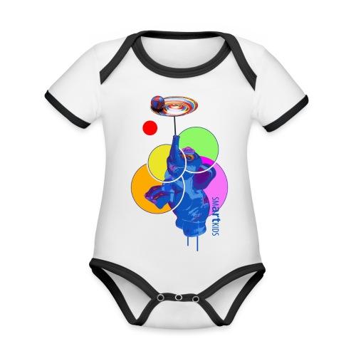 smARTkids - Mumbo Jumbo - Organic Baby Contrasting Bodysuit