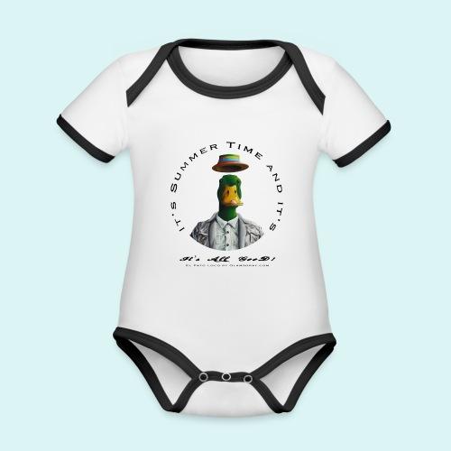 El Pato Loco - Organic Baby Contrasting Bodysuit