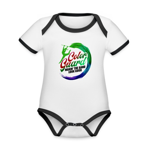 Color Guard Gift Makin' the Band Look Good - Organic Baby Contrasting Bodysuit
