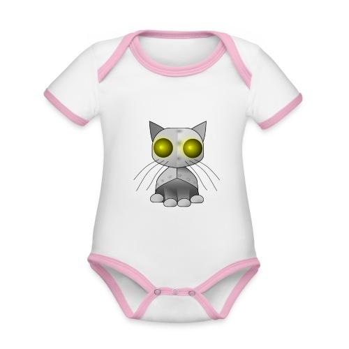 robotkatt - Organic Baby Contrasting Bodysuit