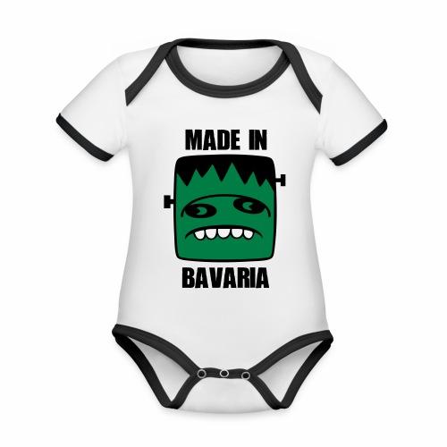 Fonster made in Bavaria - Baby Bio-Kurzarm-Kontrastbody