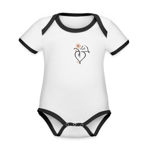 Naturfreund - Baby Bio-Kurzarm-Kontrastbody