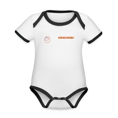 Eidsecondos better diversity - Baby Bio-Kurzarm-Kontrastbody