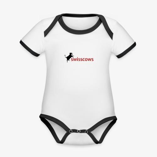 Männer T-Shirt - Baby Bio-Kurzarm-Kontrastbody