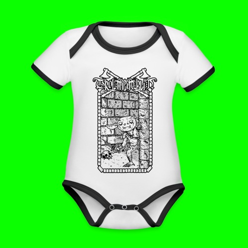 Return to the Dungeon - Organic Baby Contrasting Bodysuit