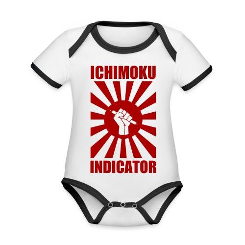 Ichimoku power - Body Bébé bio contrasté manches courtes