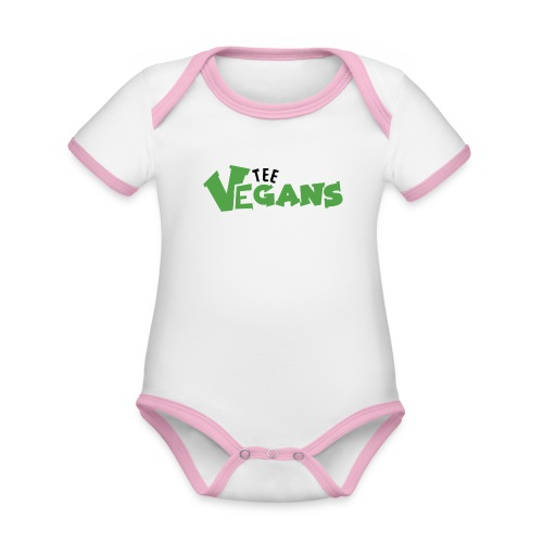 Woman Yelling at Cat meme Ugly - Organic Baby Contrasting Bodysuit