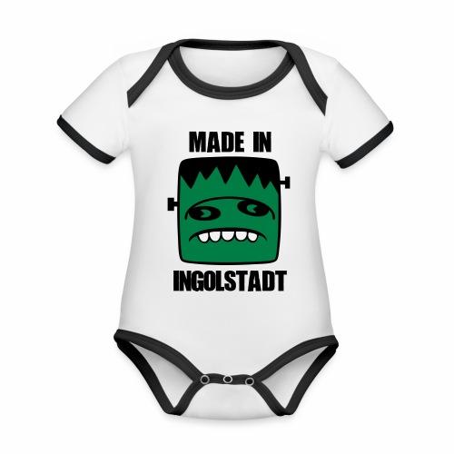 Fonster made in Ingolstadt - Baby Bio-Kurzarm-Kontrastbody