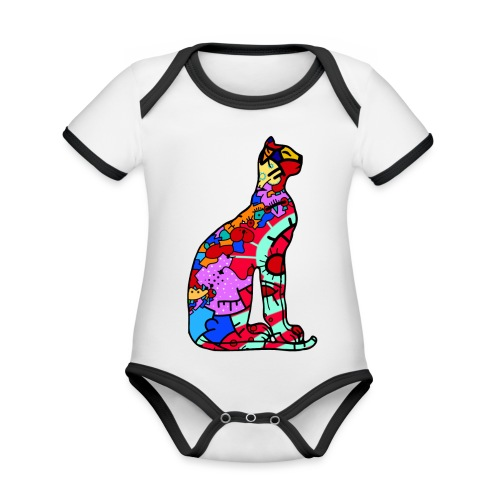 Serenicat - Organic Baby Contrasting Bodysuit