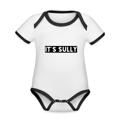 ITS SULLY - Organic Baby Contrasting Bodysuit