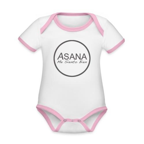 Centro ASANA . Me siento bien! - Body contraste para bebé de tejido orgánico