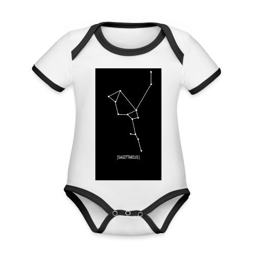 SAGITTARIUS EDIT - Organic Baby Contrasting Bodysuit