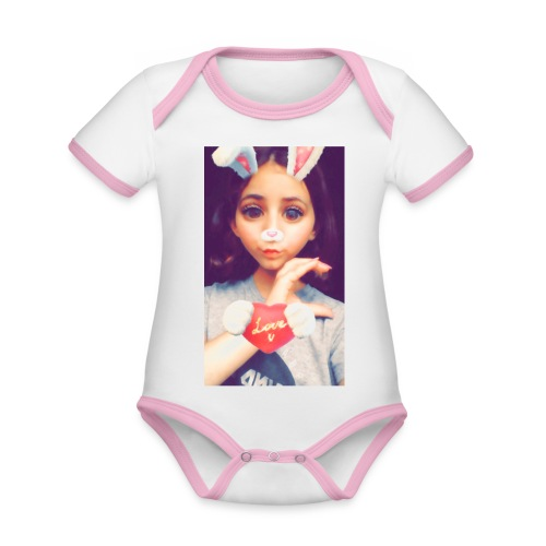 Liana - Baby Bio-Kurzarm-Kontrastbody
