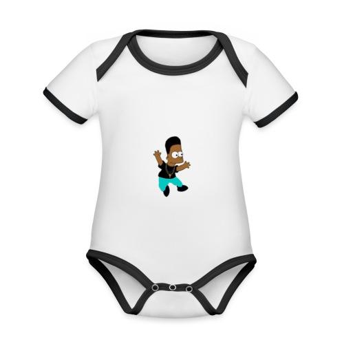 básic marcoahz - Body contraste para bebé de tejido orgánico