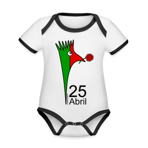 Galoloco - 25 Abril - Organic Baby Contrasting Bodysuit